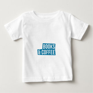 Addicted To Books And Coffee Great Gift Baby T-Shirt