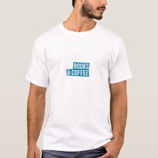 Addicted To Books And Coffee Great Gift T-Shirt