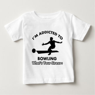 addicted to bowling baby T-Shirt
