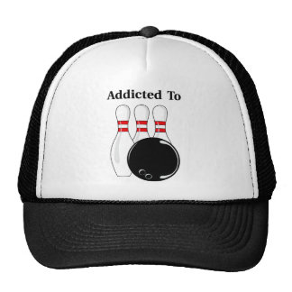 Addicted To Bowling Trucker Hat