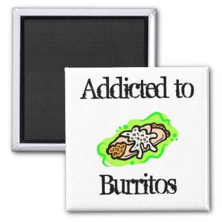 addicted to Burritos Magnets