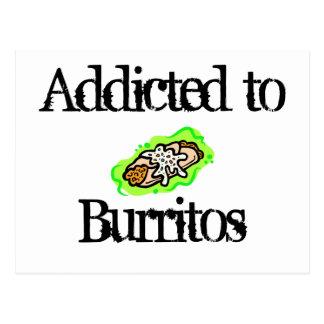 addicted to Burritos Postcard