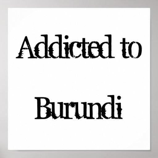 Addicted to Burundi Poster