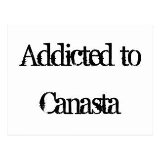 Addicted to Canasta Postcard