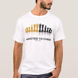 Addicted to Chess (Chess Humor Chess Set) T-Shirt