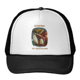 ADDICTED TO CHOCOLATE TRUCKER HAT