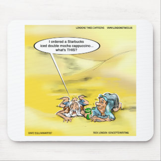 Addicted To Coffee By Londons Times Cartoons Mouse Pad