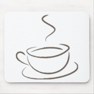 Addicted to Coffee Mouse Pad