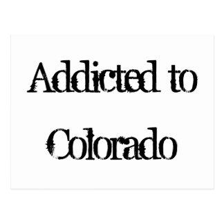 Addicted to Colorado Postcard