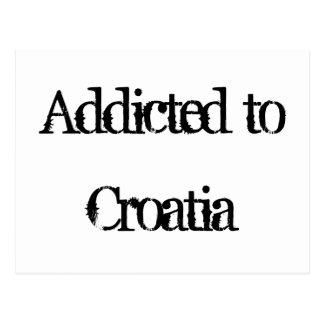 Addicted to Croatia Postcard