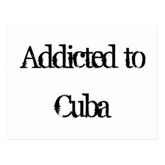 Addicted to Cuba Postcard