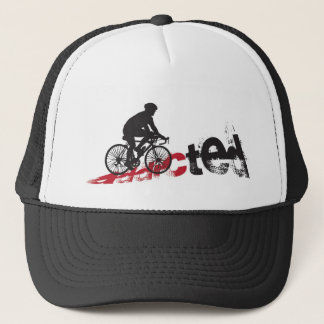 Addicted to cycle trucker hat