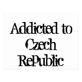 Addicted to Czech Republic Postcard