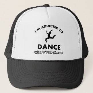 addicted to dance trucker hat