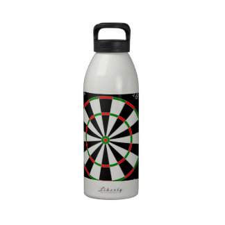 Addicted to Darts Reusable Water Bottles
