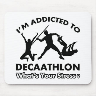 addicted to decathlon mouse pad