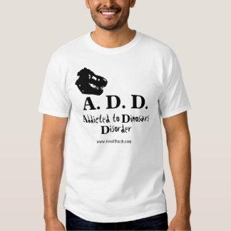 Addicted to Dinosaurs Disorder Light Shirt