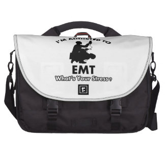 addicted to EMT Laptop Bags