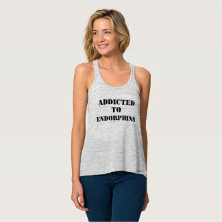 Addicted to endorphins tank top