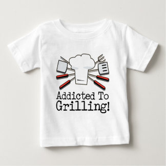 Addicted to Grilling Baby T-Shirt