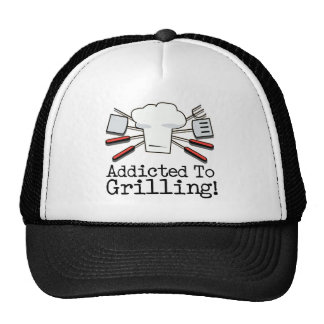 Addicted to Grilling Trucker Hat