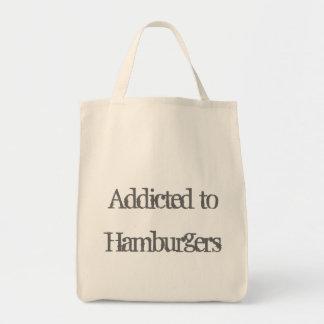 Addicted to Hamburgers Tote Bag