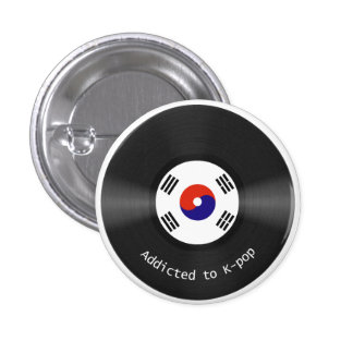 Addicted to Kpop button