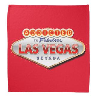 Addicted to Las Vegas, Nevada Funny Sign Bandana