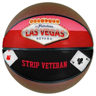 Addicted to Las Vegas, Nevada Funny Sign Basketball
