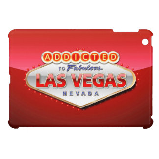 Addicted to Las Vegas, Nevada Funny Sign Case For The iPad Mini