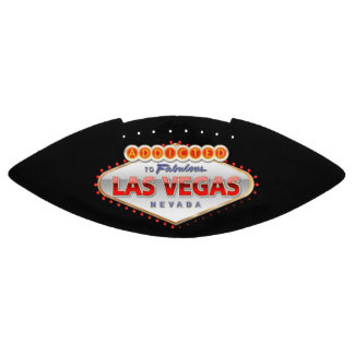 Addicted to Las Vegas, Nevada Funny Sign Football