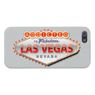 Addicted to Las Vegas, Nevada Funny Sign iPhone SE/5/5s Cover