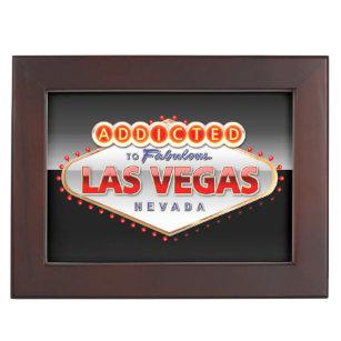 Addicted to Las Vegas Nevada Funny Sign Memory Box  sc 1 st  Zazzle & Funny Gift Boxes u0026 Keepsake Boxes | Zazzle