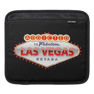 Addicted to Las Vegas, Nevada Funny Sign Sleeve For iPads