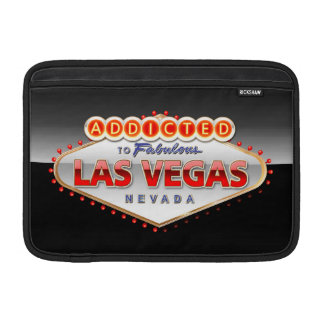 Addicted to Las Vegas, Nevada Funny Sign Sleeve For MacBook Air