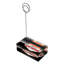 Addicted to Las Vegas, Nevada Funny Sign Table Number Holder