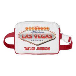 Addicted to Las Vegas, Nevada Funny Sign Waist Bag