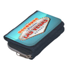 Addicted to Las Vegas, Nevada Funny Sign Wallet