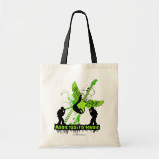 Addicted To Music Canvas Bags