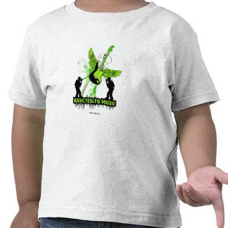Addicted To Music Tee Shirts