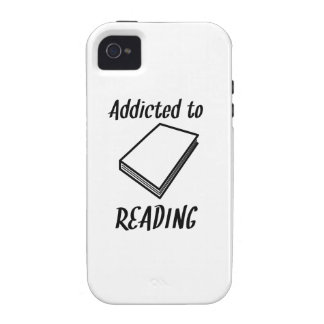Addicted To Reading Case-Mate iPhone 4 Cases