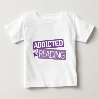 Addicted to Reading Gift Idea Baby T-Shirt