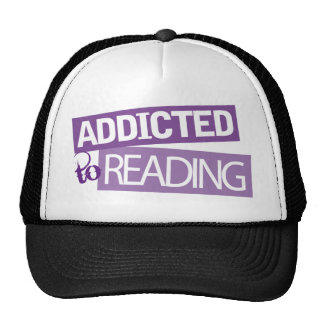 Addicted to Reading Gift Idea Trucker Hat