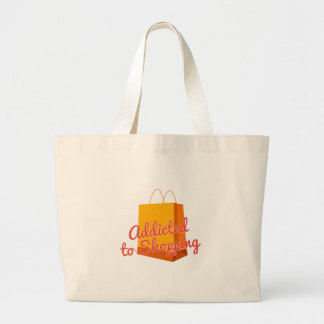 Addicted To Shopping Tote Bag
