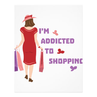 Addicted To Shopping Letterhead