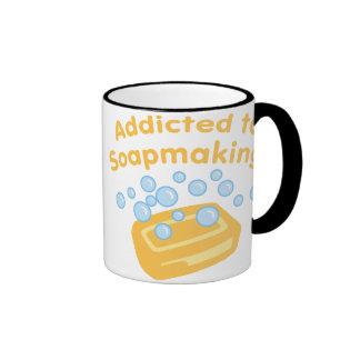 Addicted To Soapmaking Coffee Mug
