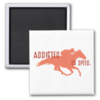 Addicted to Speed 2 Inch Square Magnet