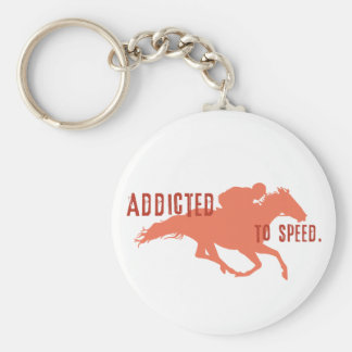 Addicted to Speed Keychains