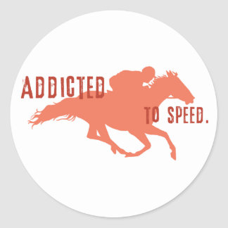Addicted to Speed Stickers