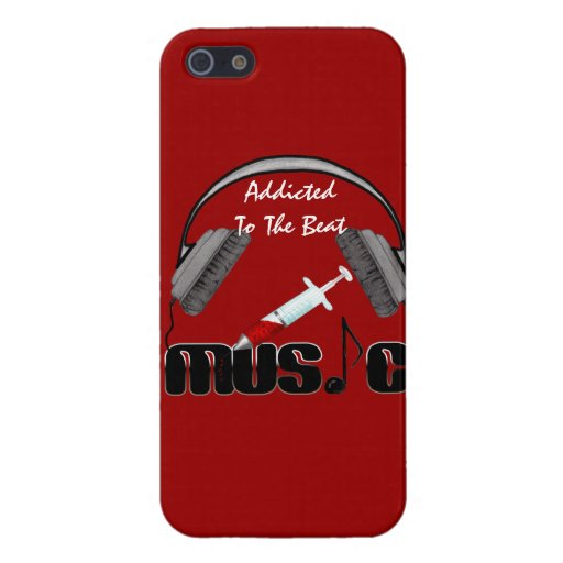 Addicted To The Beat iPhone 5/5S Covers